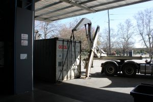3PL container delivery
